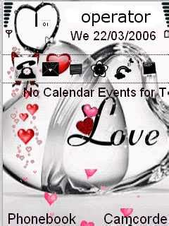 mobile themes of love download animated love nokia theme mobile toones