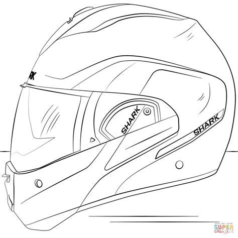 Motorcycle Helmet Coloring Page | motorcycle helmet coloring page free printable coloring