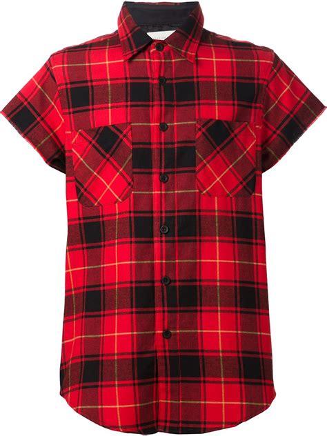Plaid Sleeve Shirt sleeve plaid shirts mens artee shirt
