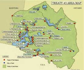 maps of treaty in canada