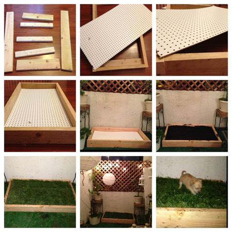 grass box diy grass box easy to make and less than 40 at home depot puppy stuff