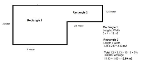 how to calculate floor plan area how do you calculate the number of m2 that you need