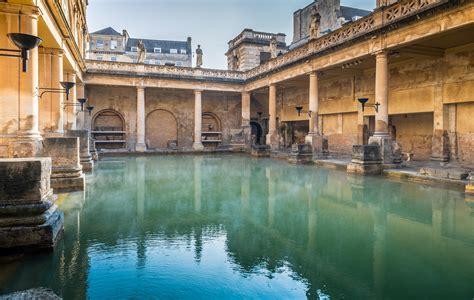 bathing in bathtub great bath the roman baths