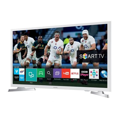 Tv Samsung Led 32 White samsung 32 quot smart flat hd ready led tv white samsung from powerhouse je uk