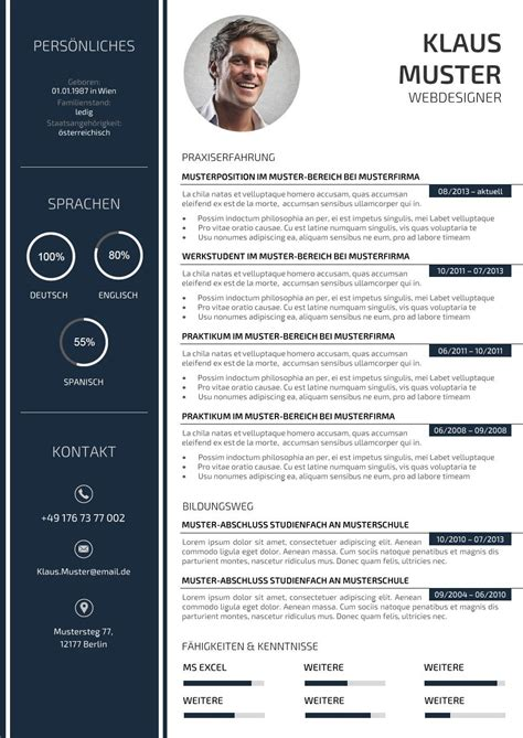 Best Resume Model Download by Premium Bewerbungsmuster 3 Lebenslaufdesigns De