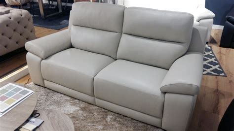 sofa en piel sof 225 piel beige moreno outletsofa