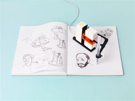 harga sketchbook kecil line us robot kecil dengan satu tangan khusus untuk