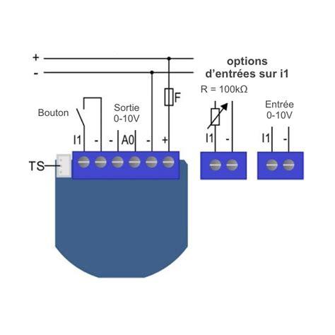 le 0 10v qubino zmnhvd1 micromodule zwave avec sortie 0 10v pour