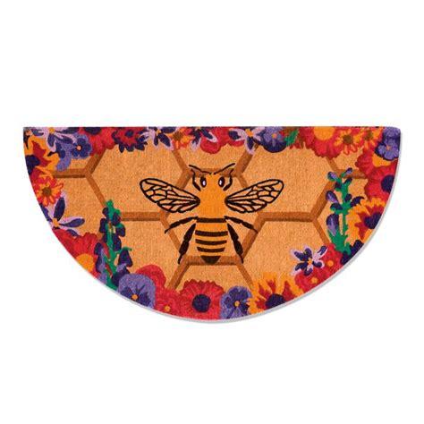 honey bee coco door mat frontgate
