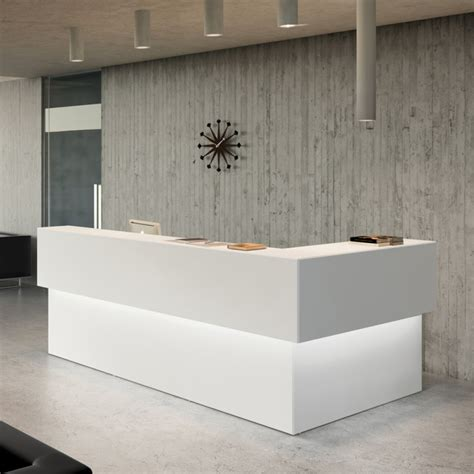 custom reception desk modern san francisco custom reception desk