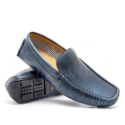 italian loafers and moccasins new mens casual italian loafers slip on moccasins driving