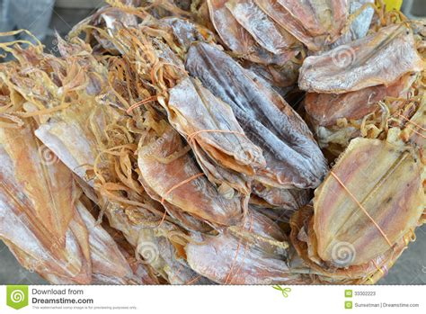 Dried Cuttlefish Stock Photos - Image: 33302223