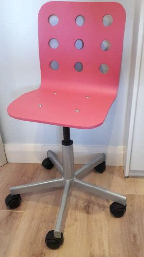 ikea desk chair pink office chair ikea pink for sale in knocklyon dublin