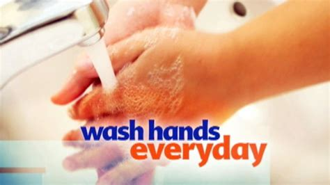 how many times should you go to the bathroom tip of the day wash your hands abc news