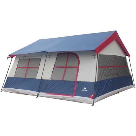 Ozark Trail 12 Person 3 Room Tent by Ozark Trail 14 Person 3 Room Vacation Home Cabin Tent