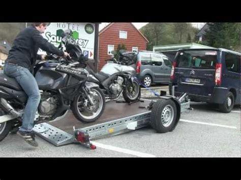 Motorrad Anh Nger Zum Kippen by Motorradanh 228 Nger Ohne Anstrengung Und Sicher Motorr 228 Der