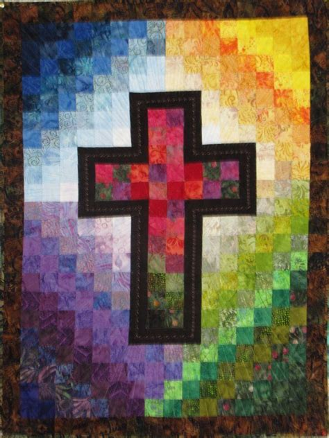 quilt pattern cross 17 best images about religious quilts on pinterest