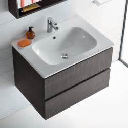 mobile bagno con lavabo integrato nel piano atlantic