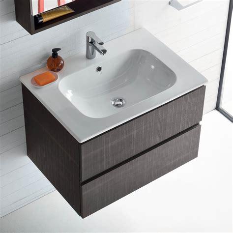 mobile lavello bagno mobile bagno con lavabo integrato nel piano atlantic