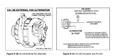 cs130 alternator wiring diagram efcaviation
