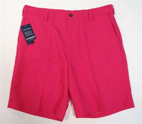 comfort waist golf shorts men s chaps golf 78 comfort waistband fuchsia pink flat