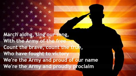 sog us army the army goes rolling along song and lyrics played by
