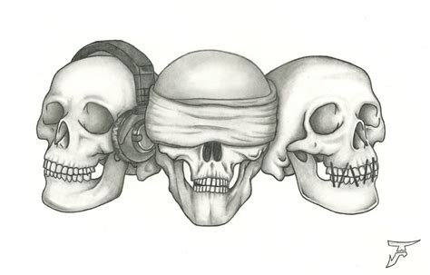 hear no evil speak no evil see no evil tattoo see no evil hear no evil speak no evil skull designs