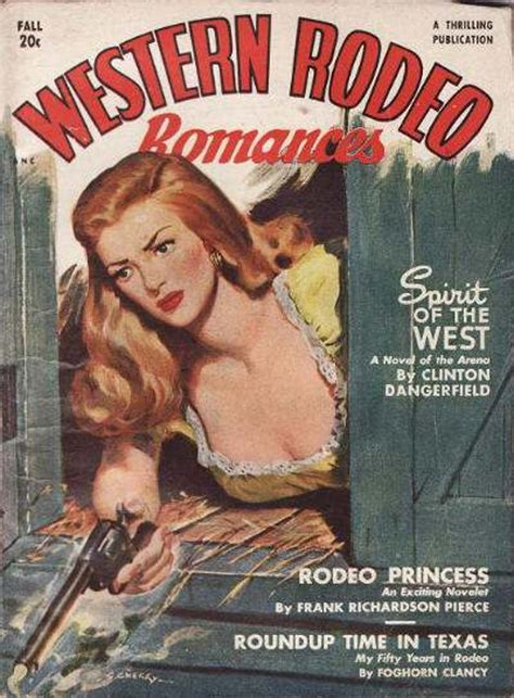 rough edges saturday morning western pulp western rodeo