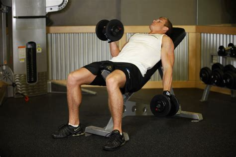 dumbbell bicep curl incline bench incline dumbbell curl exercise guide and video