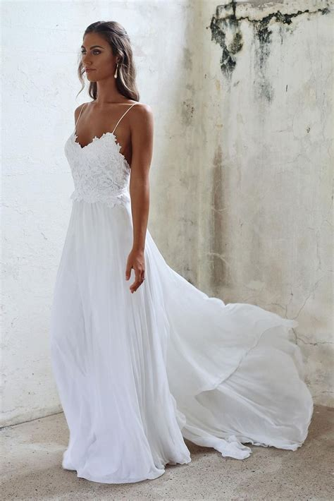 White Bridal Dresses by Wedding Dresses Looking Stunning For The Event My