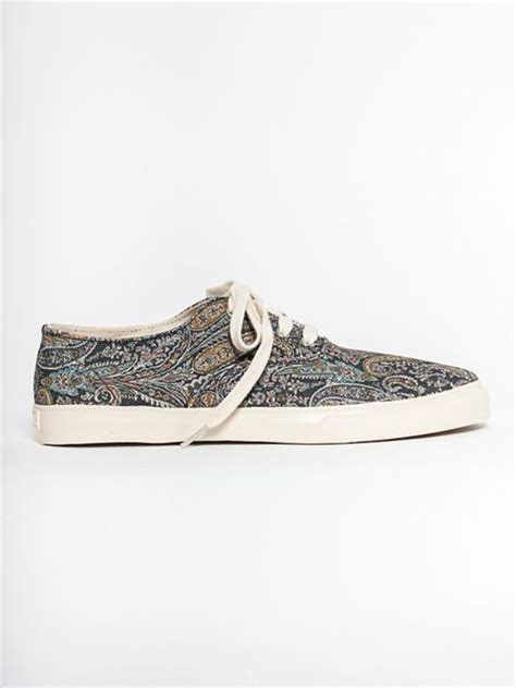 ymc shoes ymc mens lace up shoe paisley in multicolor for lyst