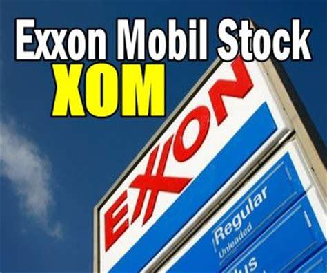 exxon mobil stock exxon mobil stock xom trade alert may 11 2017