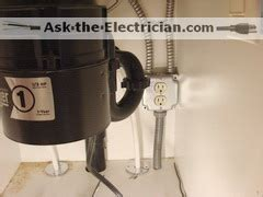 how to wire a garbage disposal and a dishwasher outlet