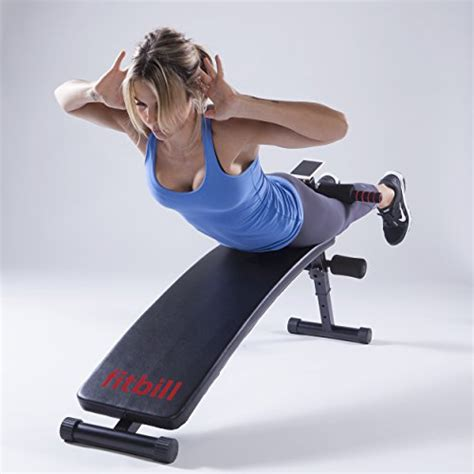 bench face fitbill sit up decline bench with face recognition
