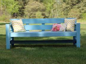 A Park Bench Ana White Modern Park Bench Diy Projects