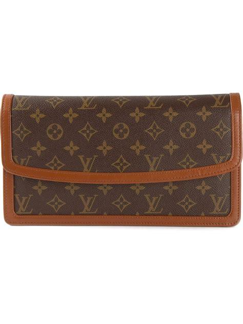 Louis Vuitton Monogram Motard Clutch by Louis Vuitton Monogram Clutch In Brown Lyst
