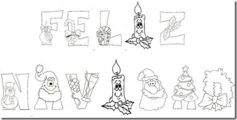 imagenes que ponga merry christmas letreros de fel 237 z navidad para pintar colorear im 225 genes