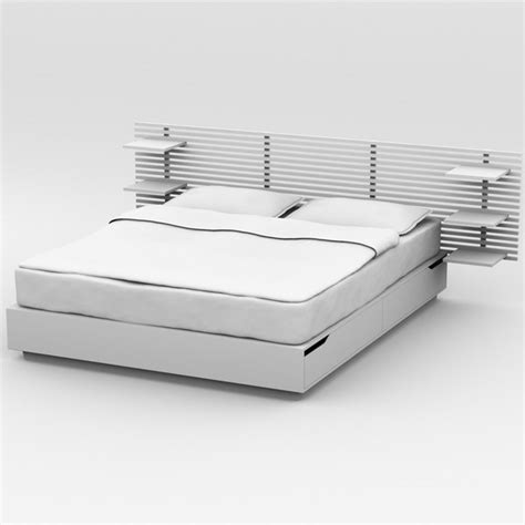 ikea mandal bed review 3d model bed ikea mandal