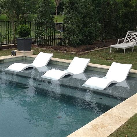 In Pool Lounge Chairs by Chaise Lounge Ledge Lounger Outdoor Lounges Pool