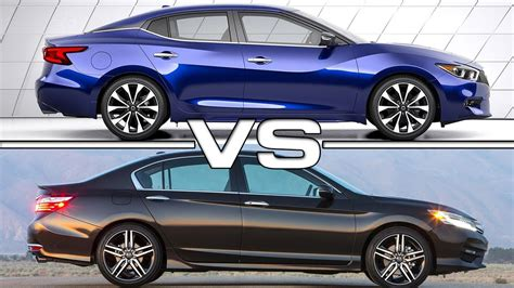 Maxima Vs Altima 2016 by 2016 Nissan Maxima Vs 2016 Honda Accord
