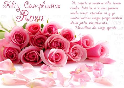 imagenes de cumpleaños rosas feliz cumplea 241 os rosa happy birthday my friend pinterest