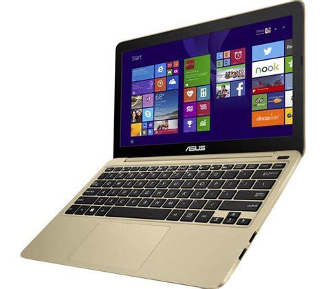 Asus Laptop Black And Gold asus x205ta 11 6 quot laptop chagne gold deals pc world