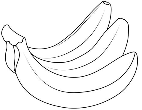 banana coloring page free printable coloring pages 25 best bananas for books images on pinterest