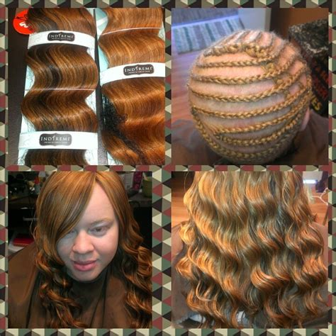 braids and sew in hair styles full head sew in sew in hairextentions pinterest