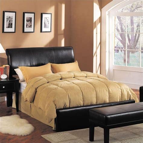 headboard kits queen acme furniture montego queen upholstered bed in espresso