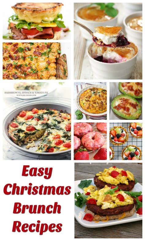 easy christmas brunch recipes festival around the world