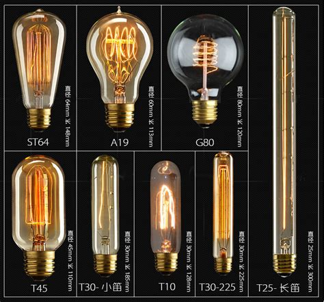 Vintage Light Bulb Fixtures Light Bulbs Awesome Antique Filament Led Bulbs Design Ideas Led Filament Bulb Dimmable Led
