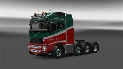 truck volvo 2013 volvo fh 2013 8x4 1 22 truck euro truck simulator 2 mods