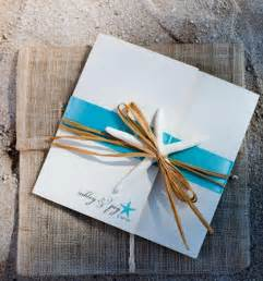 Beach wedding invitations to set the tone for your beach theme