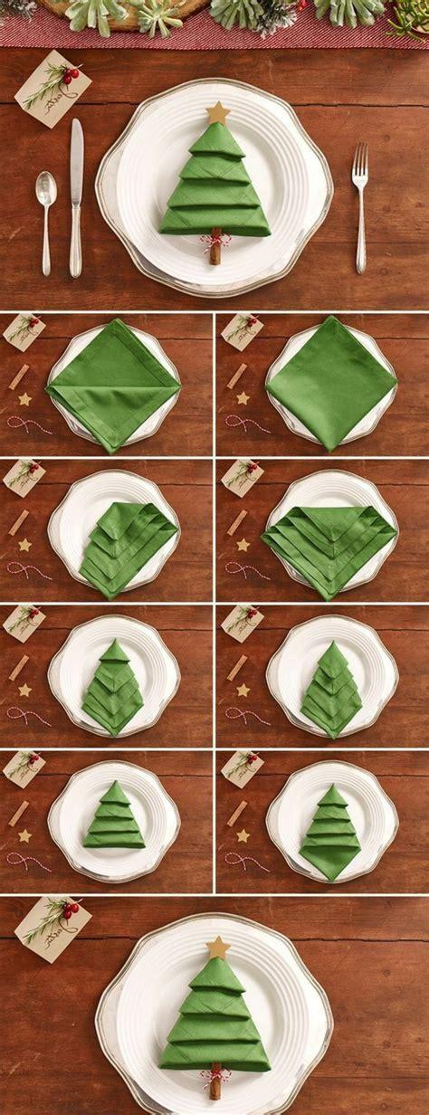 Weihnachtliche Servietten Falten by 40 Bildsch 246 Ne Ideen Wie Sie Servietten Weihnachtlich